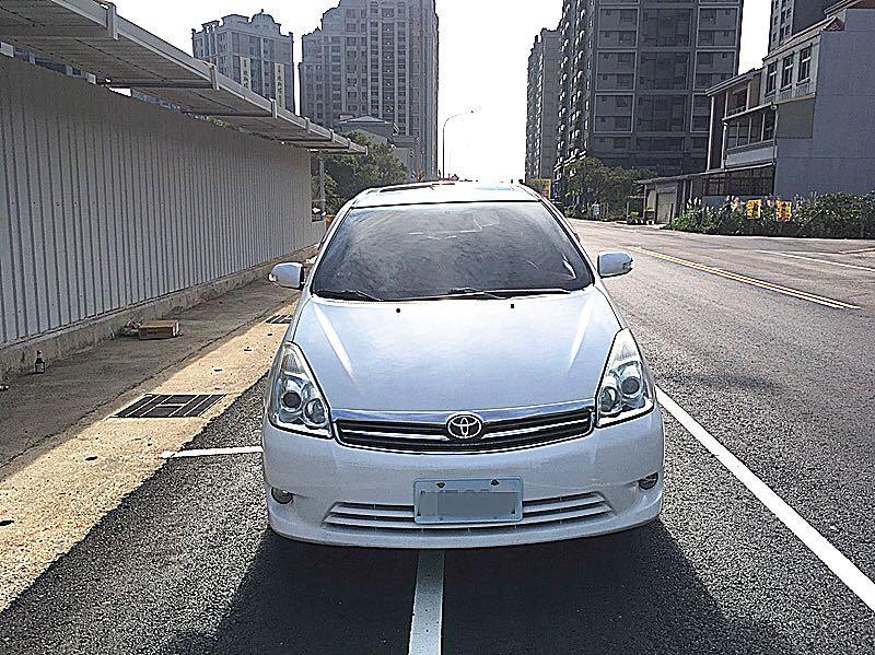 08年wish G版 認證車 可全額貸