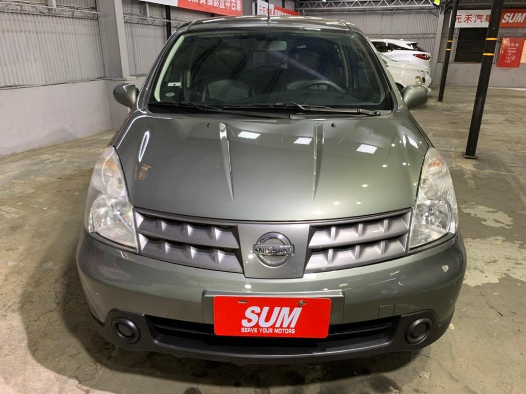 2012年小改款 Nissan Livina 1.6 五人座豪華版 灰色