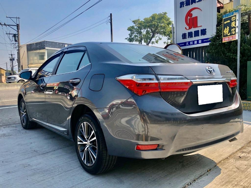 2017年型 Toyota Altis 第三代 小改款 每年度各大品牌的銷售冠軍一級省油神車
