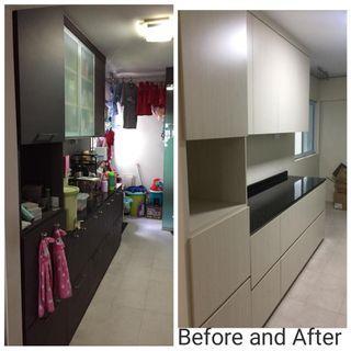 Kitchen Cabinet Relaminate