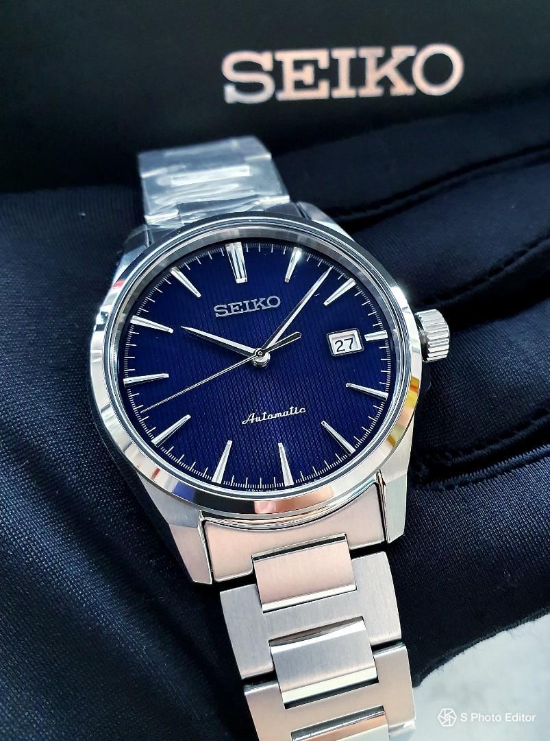 * FREE DELIVERY * JDM Brand New 100% Authentic Seiko Presage Tuxedo Men's Automatic Dress Watch SARX045