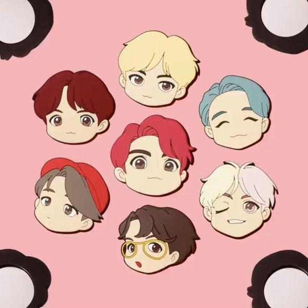 Character Mouse Pad  + RANDOM Postcard - HOUSE OF BTS POP-UP