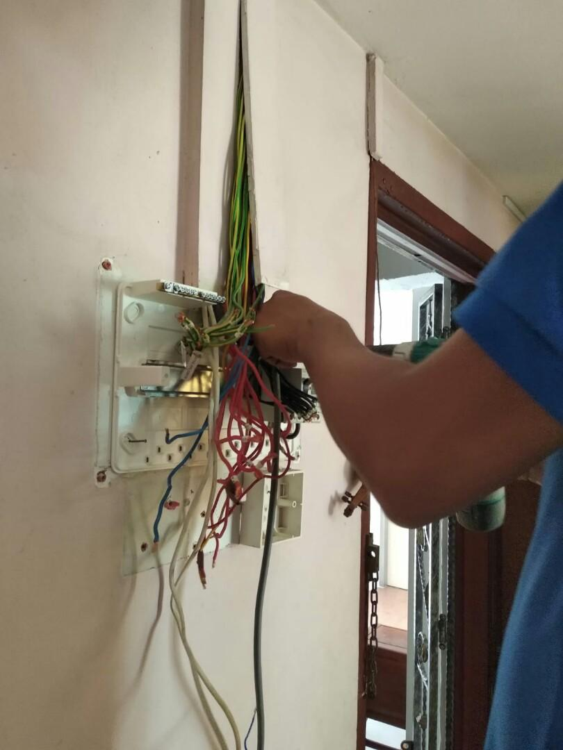 Electrical & Plumbing Services With bathroom accessories  installation