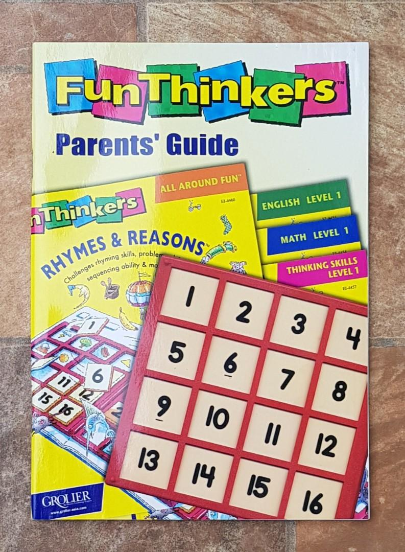Fun Thinkers (books / educational toy / children's books / activity books)