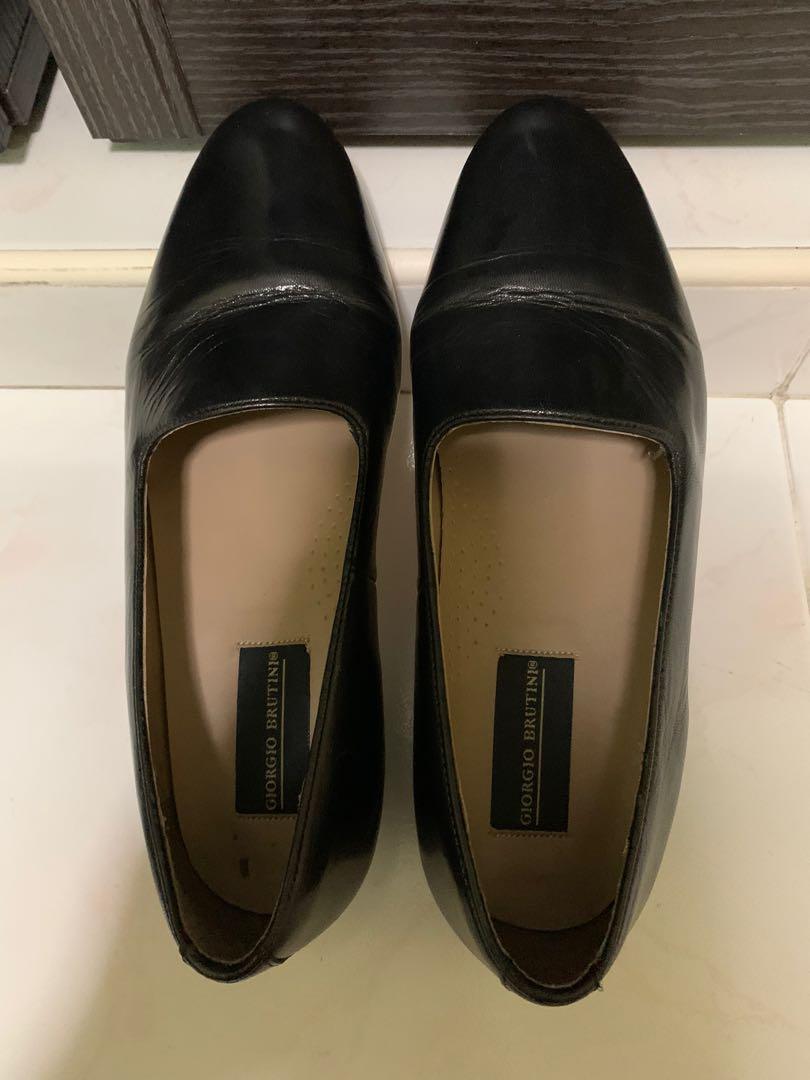 Giorgio Brutini black dress shoe, Men's