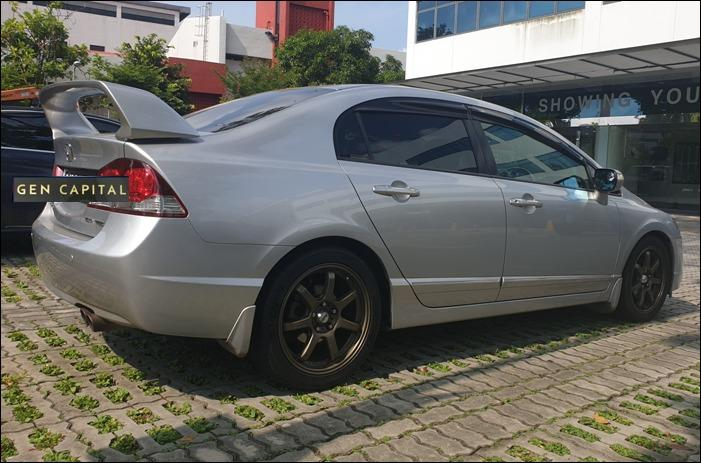Honda Civic 1.8A JUST IN Special CNY rates @ 85884811. Cheapest rental in town! $500 Deposit driveoff immediately!