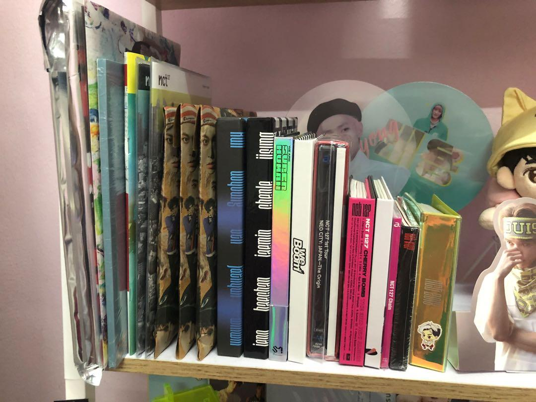 NCT Pre-loved Albums
