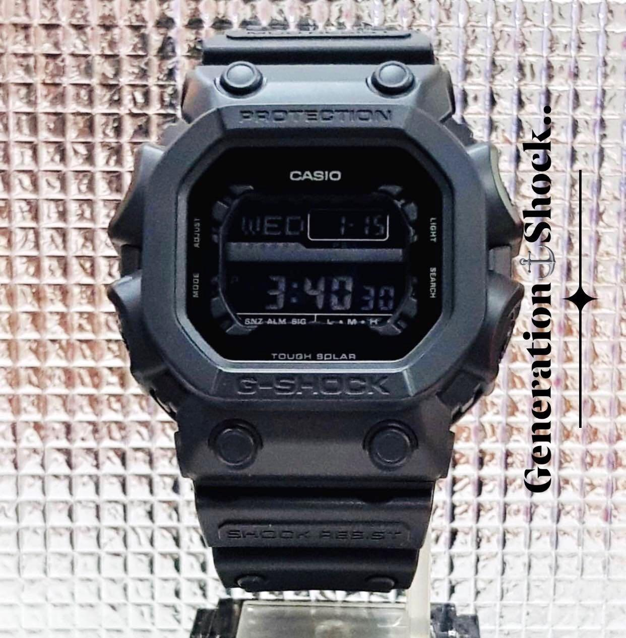 NEW🌟TOUGH☀️SOLAR : G-KING GSHOCK DIVER SPORTS WATCH : 100% ORIGINAL AUTHENTIC CASIO G-SHOCK GKING : GX-56BB-1 / GX56BB-1 / GX-56-BB-1 (DEEP-BLACK STEALTH MATT)