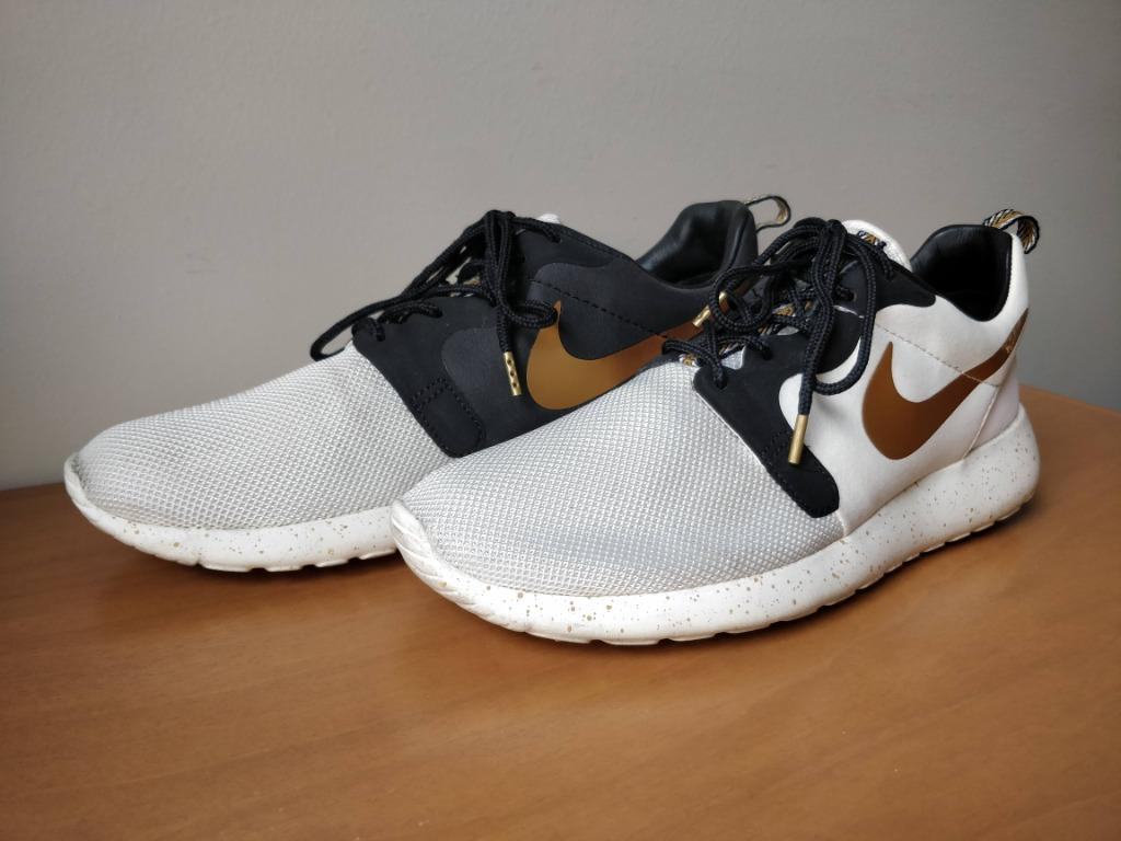 Nike Roshe Run Hyperfuse Gold White Hypervenom US 7.5