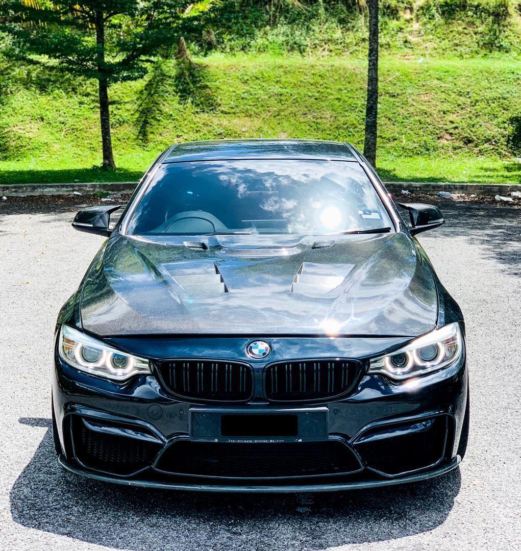 SEWA BELI>>BMW F32 428i M SPORT STAGE2 BMW M POWER CALIPER 4 POT EXHAUST CONTROL VALVE 2015