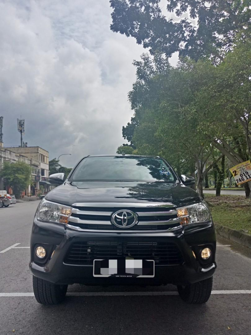 Toyota Hilux Revo 2.4 (A) 4x4 Pickup Truck Sewa Selangor KL