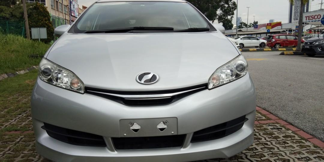 TOYOTA WISH 1.8 X SPEC Have RECON2014☺PRICE ON THE ROAD RM83,888.88☺🙏👍include Import Duties fee☺ 👍include Road tax fee 1year✔ 👍include Processing fee 👍include insurance fee✔ Support~NCB55% 1year Insurance free✔HP012-2367272SENGSENG☺🙏