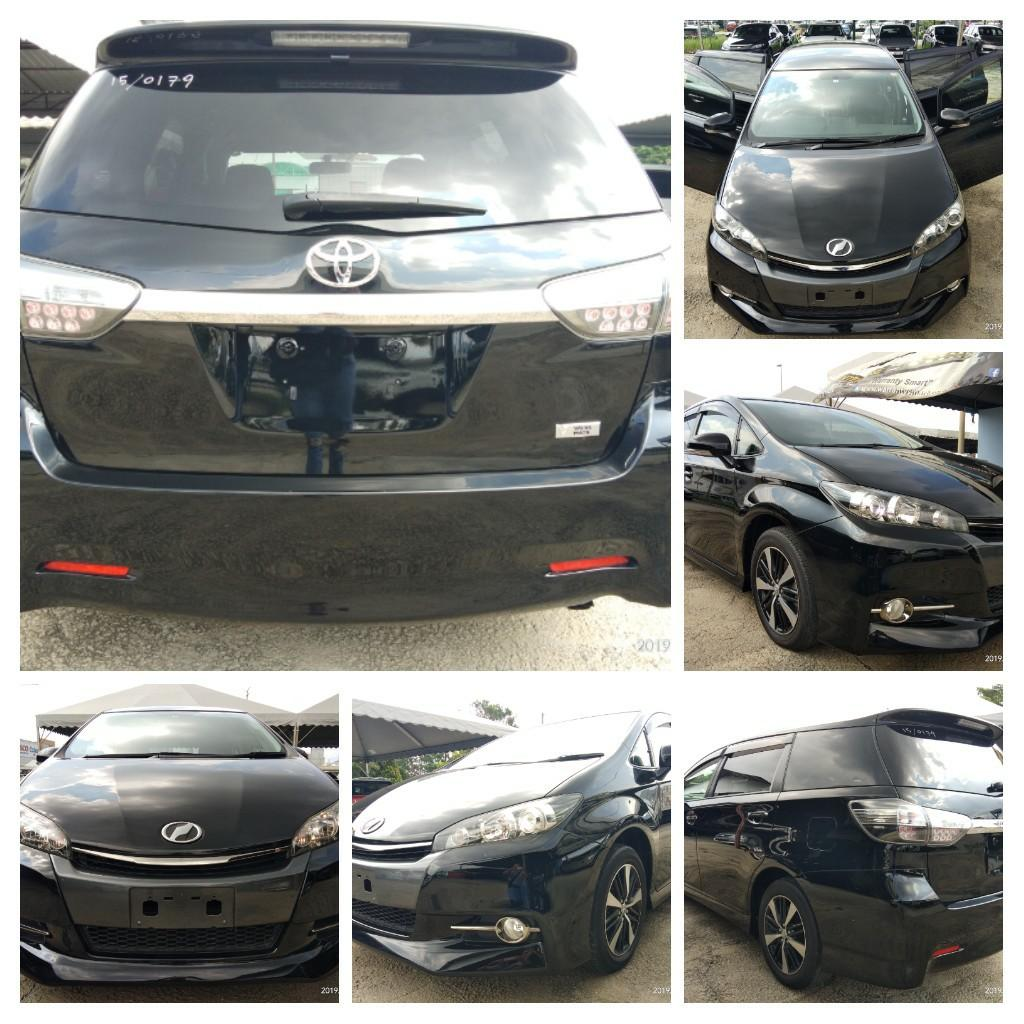 Toyota Wish 1.8S Monotone YEAR2015~RECON New unregistered  Loan 9year/RM1255monthy ON THE ROAD PRICE~RM108,888.88👍📲HP1⃣0⃣1⃣2⃣2⃣3⃣6⃣7⃣2⃣7⃣2⃣SENGSENG☺🙏