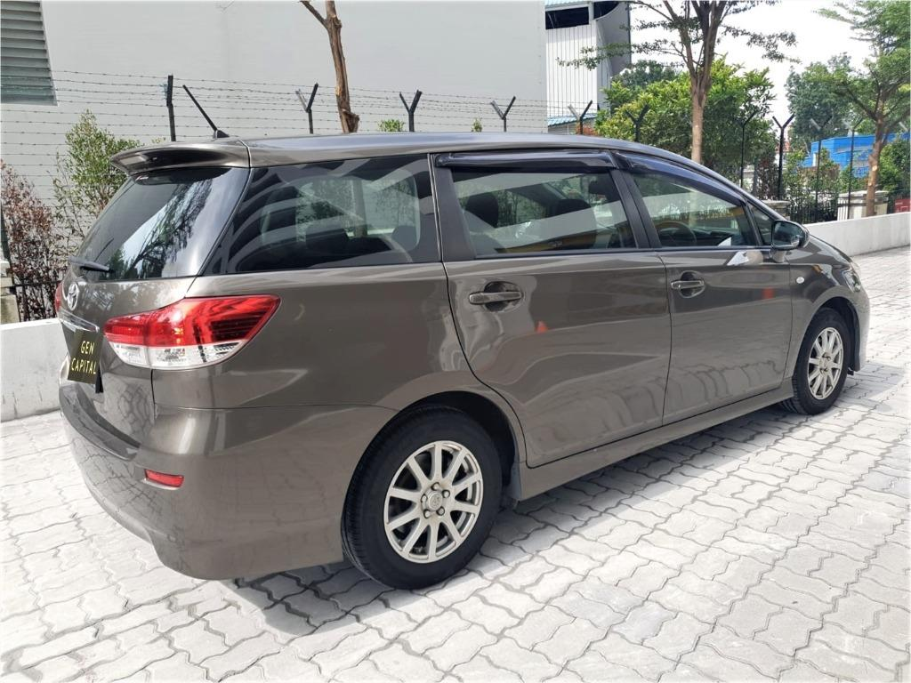 Toyota Wish JUST IN Special CNY rates @ 85884811. Cheapest rental in town! $500 Deposit driveoff immediately!