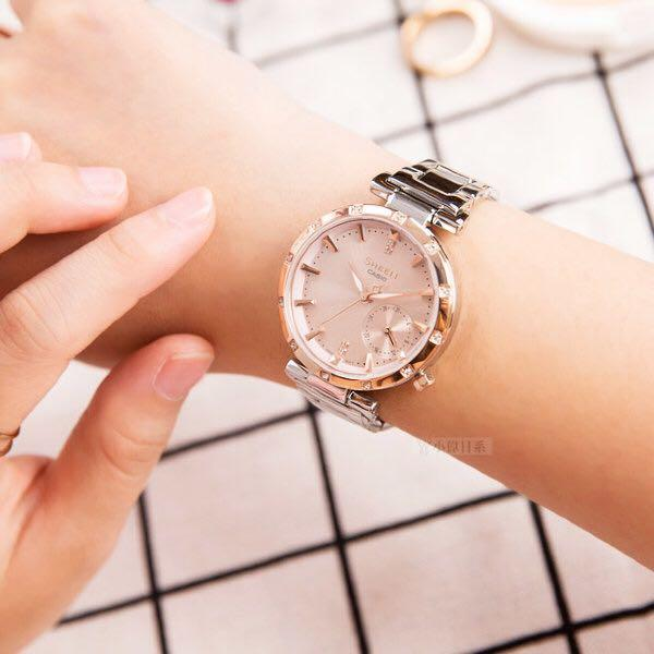 NEW🌟SHEEN GLAMOUR WATCH : 100% ORIGINAL AUTHENTIC CASIO SHEEN : by BABY-G SHOCK ( GSHOCK )  Company : Swarovski Crystal & Element : SHE-4051SG-4AUDF (SILVER ROSE-GOLD)