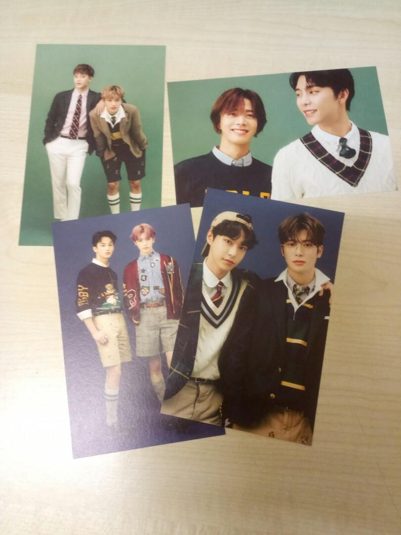 WTS NCT SEASON GREETINGS A4 POSTERS AND POSTCARD CALENDARS