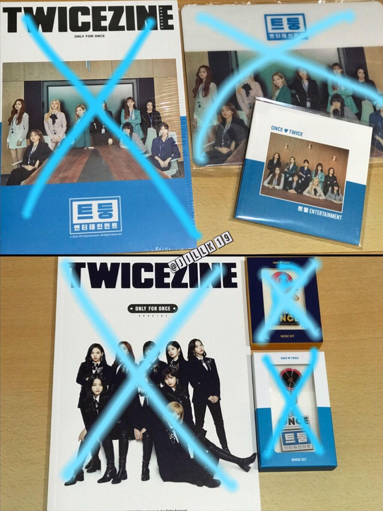 [WTS] TWICE ONCE 2nd & 3rd Generation FanClub Membership Goods