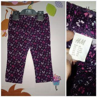 Celana hnm new tanpa tag
