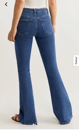 Auth 💯Mango Flare Jeans