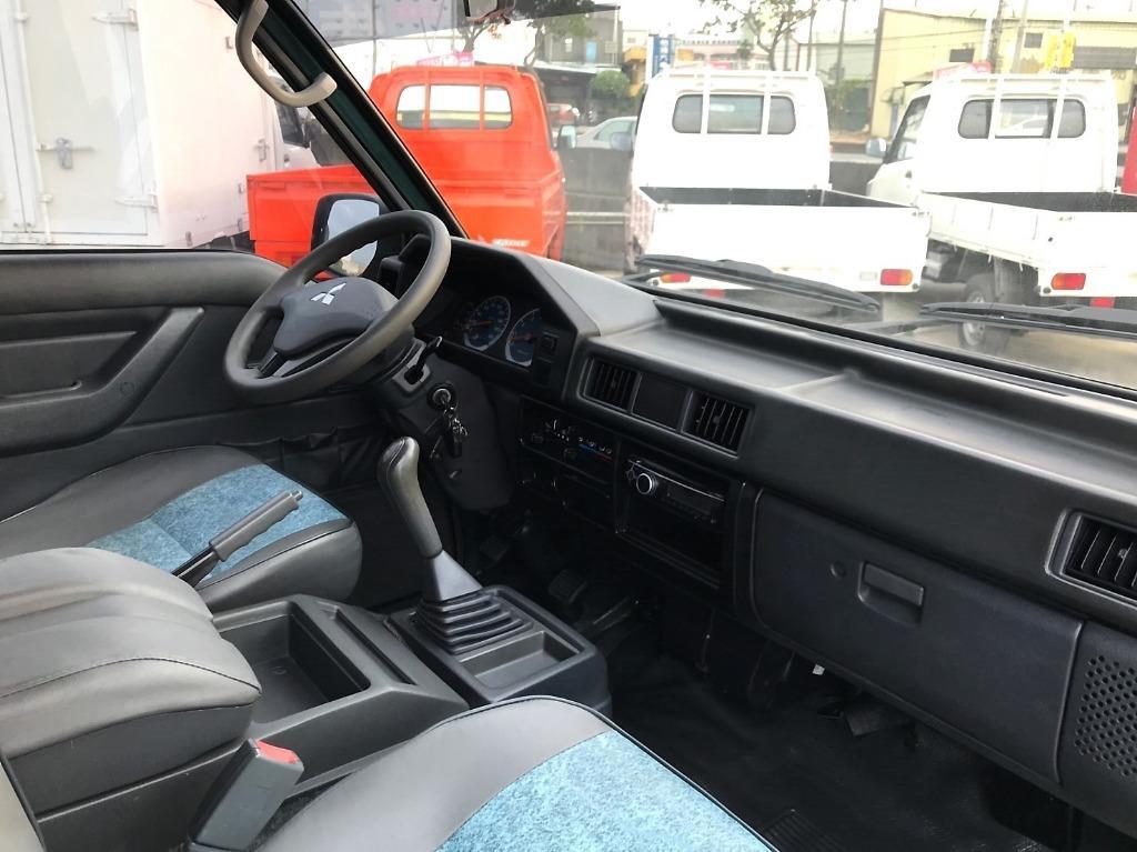 15年 三菱 CMC 中華 Delica 得利卡 新型 2.4 墨綠 手排 8人座 客貨版 前後中央空調 額度高 可多貸