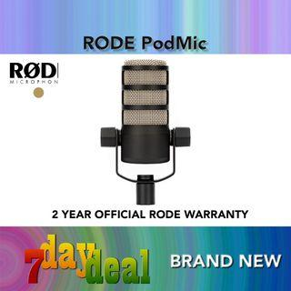 Rode PodMic Broadcast Grade Dynamic Podcasting Microphone
