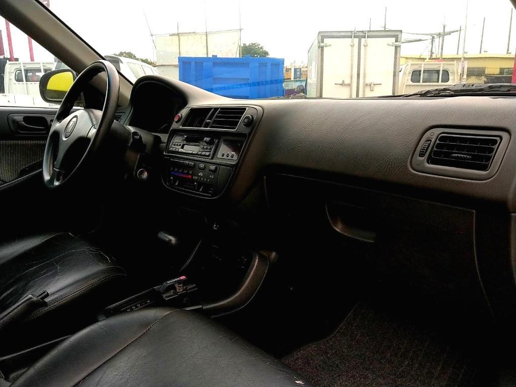 1997年 Honda 本田 Civic K8 1.6 自排 原廠黑色 VTEC 可變汽門 全車原廠 無改裝 無惡操