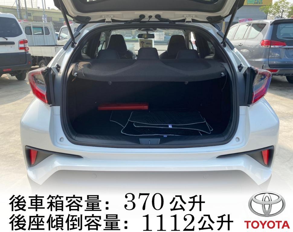 19年 12月 Toyota 豐田 C-HR 1.2 豪華版 黑車頂 影音版 跑9公里 ★新車保固 全貸/超貸