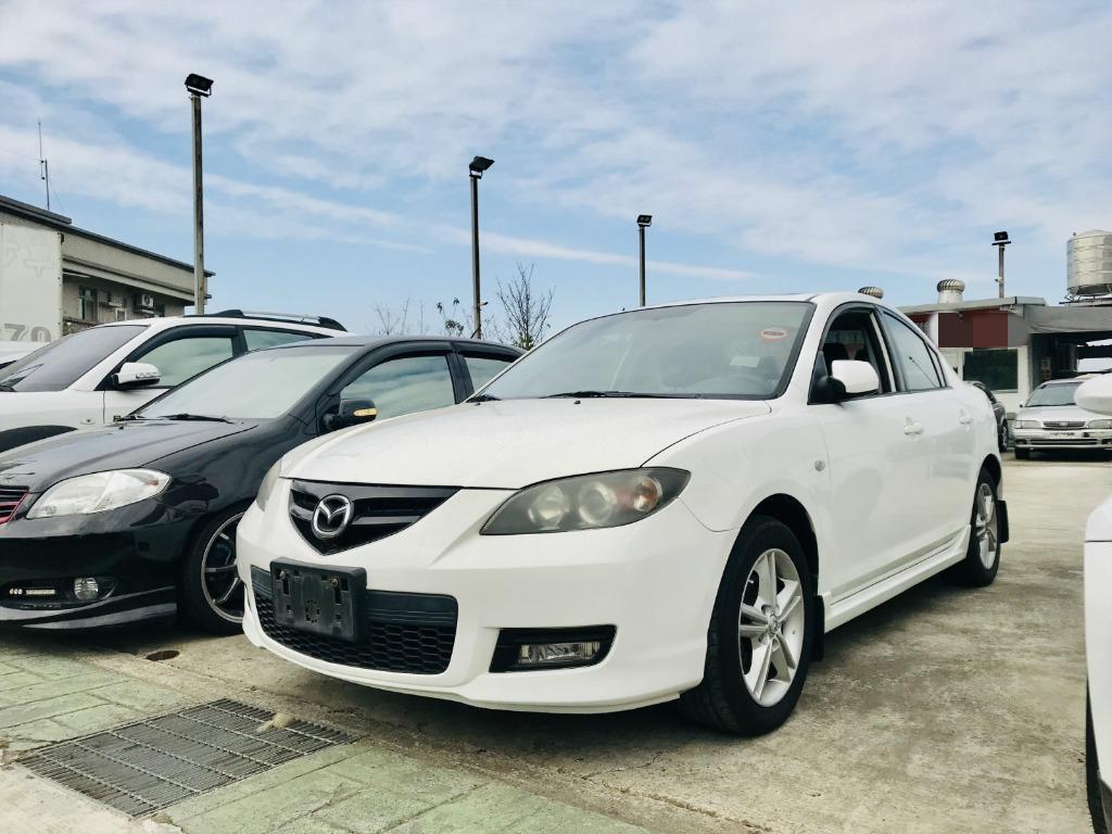 2008 Mazda 3 2.0s  一手漂亮車➡認證車❤