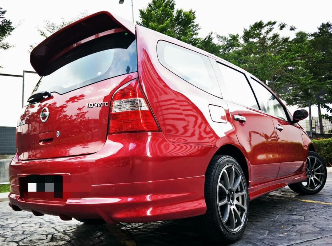 2008 Nissan livina 1.8(A)MUKA3990 KEDAI LOAN SENANG LULUS.
