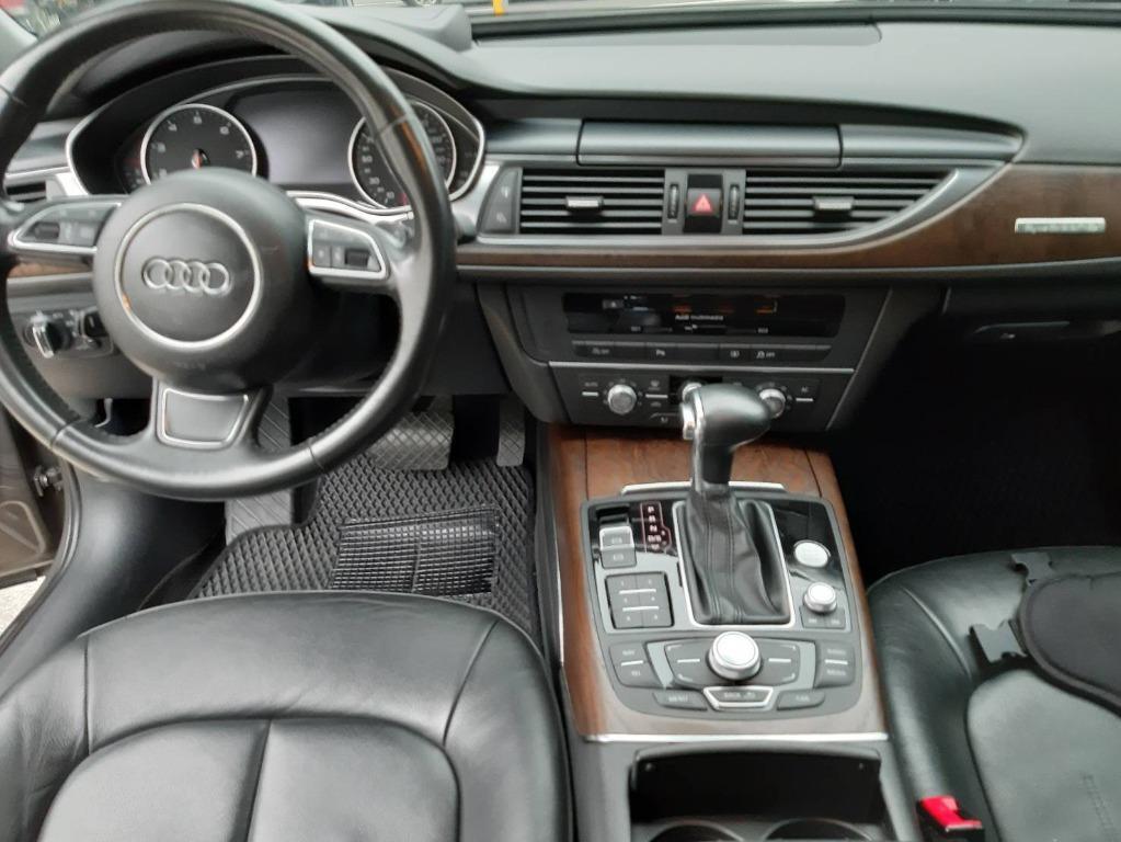2012樣式 奧迪 A6 3.0T QUATTRO 大改款 300匹馬力 智慧型恆時四傳 機械式增壓 配備更是不用多說 猛烈的貼背感