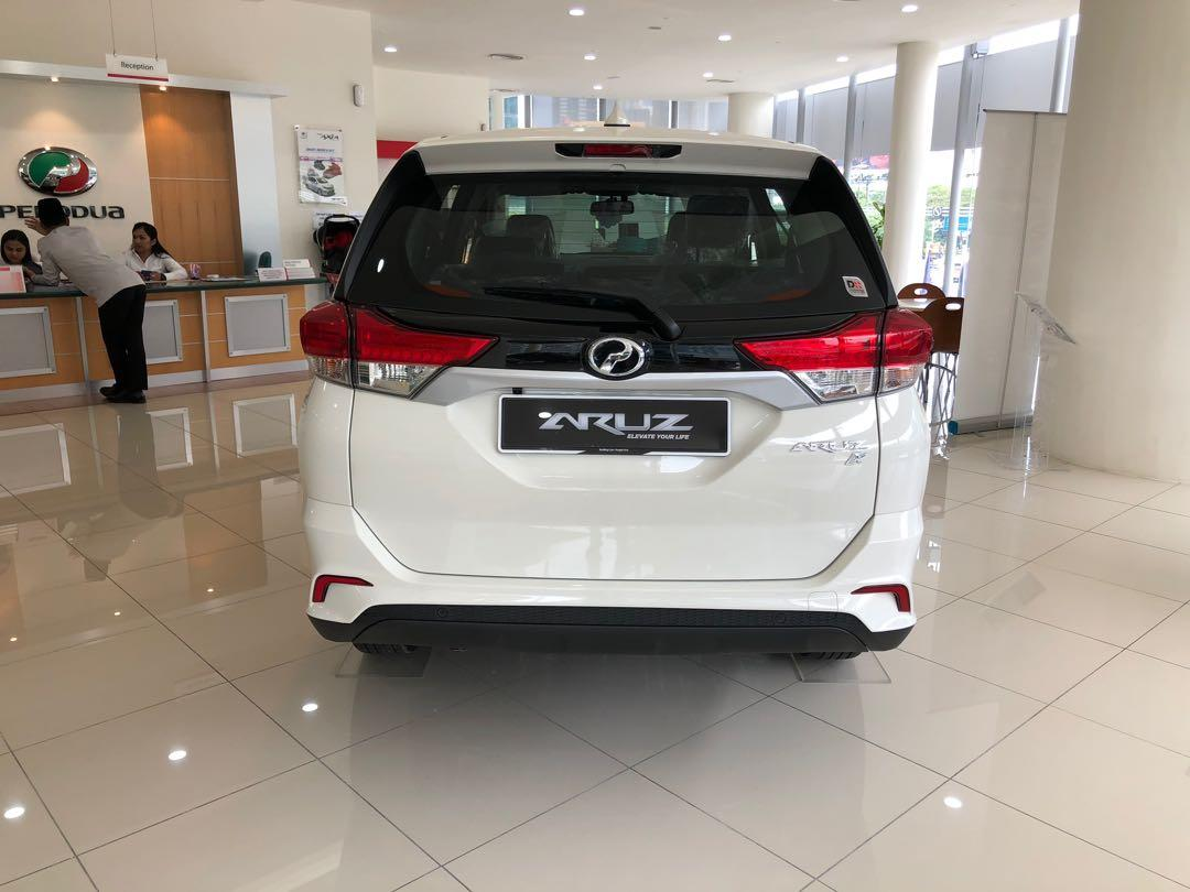 2020 Perodua Aruz 1.5 X (A) Ivory White Maximum Loan