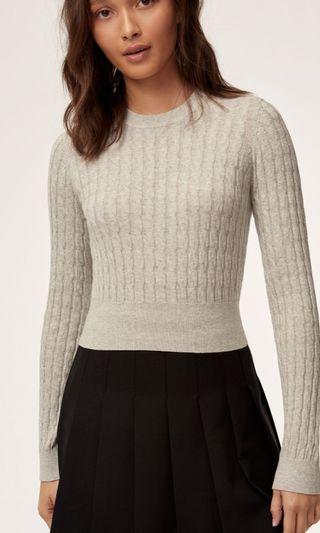 Aritzia Sundays Best Cindy Sweater small