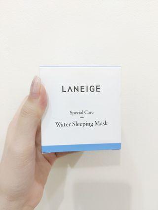 Laneige Water Sleeping Mask (box + isi lengkap) Skincare Masker Korea #sale2020