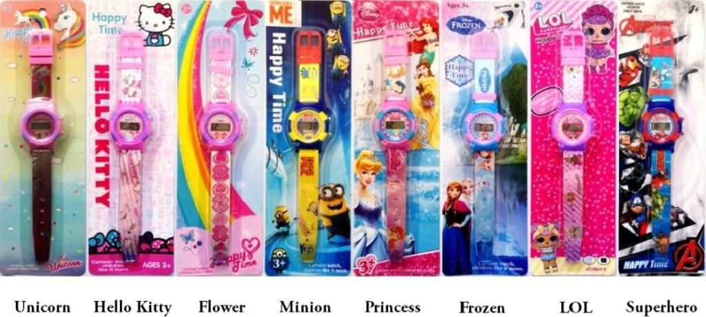 💖 Kids Cartoon Digital Watch 💖 Paw Patrol SUPERHERO PONY PRINCESS SOFIA  Party Goodie Bag Birthday