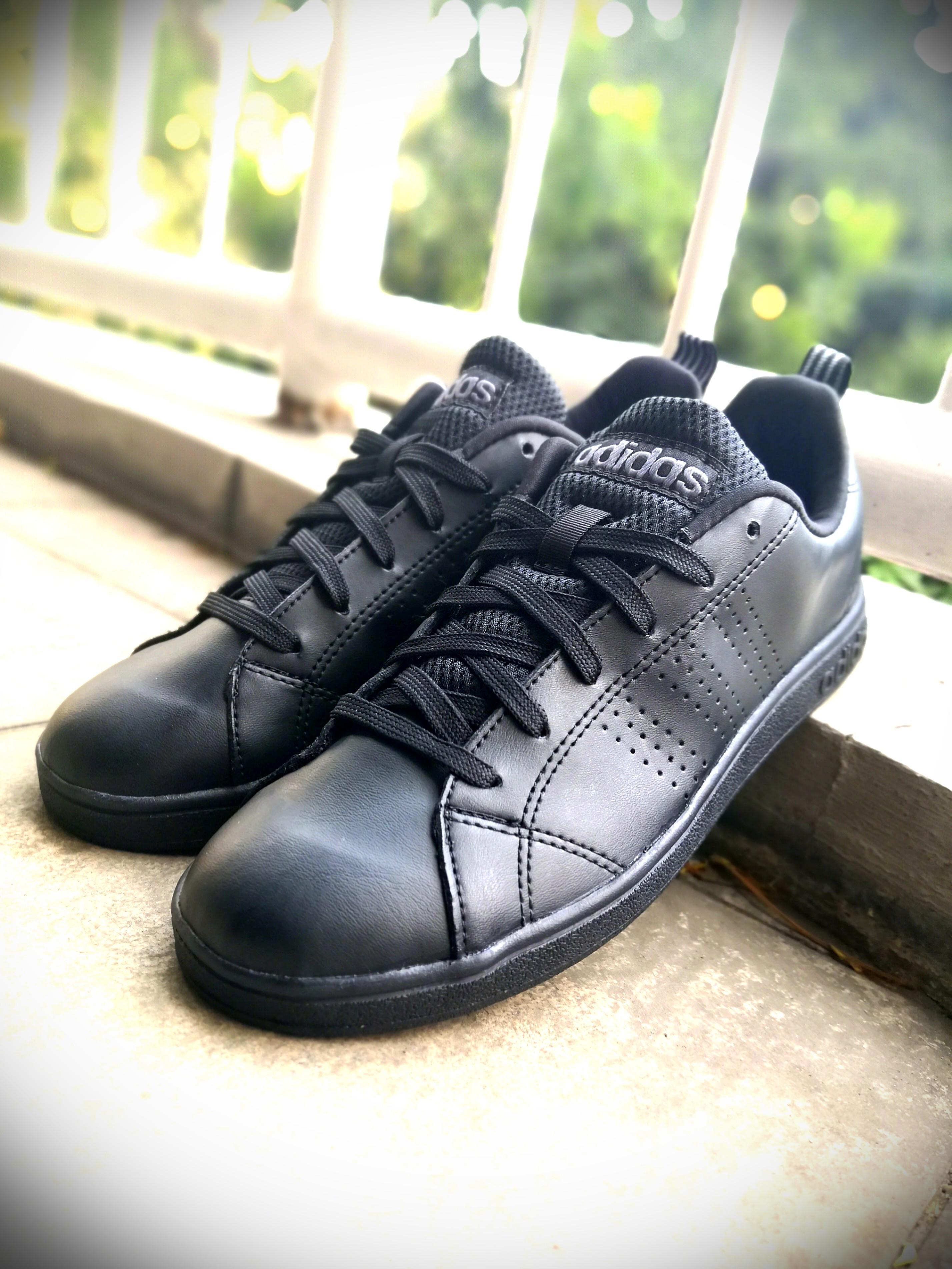 adidas advantage clean mens casual shoe