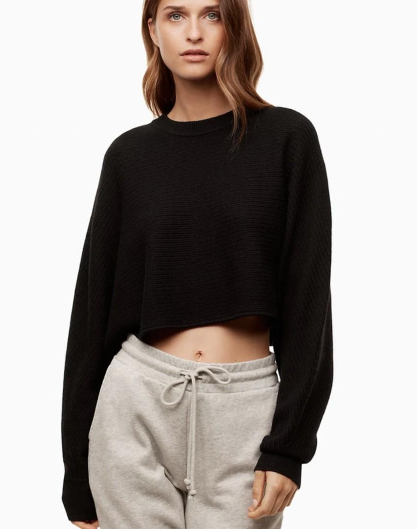 Aritzia Lolan Wilfred crop sweater size 1 (xxs,xs)