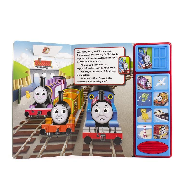 B5 # 4 Preloved Thomas & Friends - Find that Freight! Lift-a-Flap Sound Book
