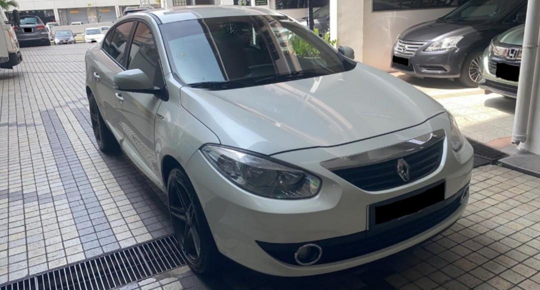 Car Rental Renault Fluence 21-24 Feb Weekend Package (Woodlands 11)