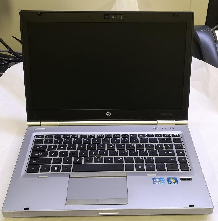 HP EliteBook 8460p Laptop i5 2.6GHz 8GB RAM 500GB HDD