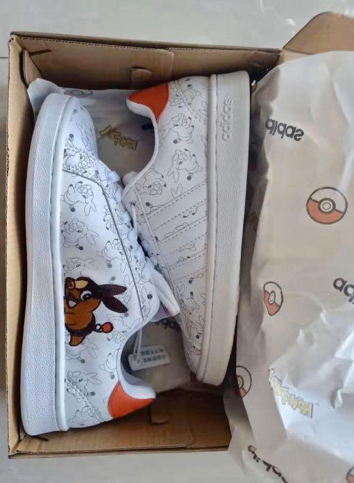 Idear cubierta Tranquilizar  INSTOCK][SALE] Authentic Adidas Stan Smith x Pokemon Pikachu Clover Joint  Smith Casual Sneakers, Women's Fashion, Shoes, Sneakers on Carousell