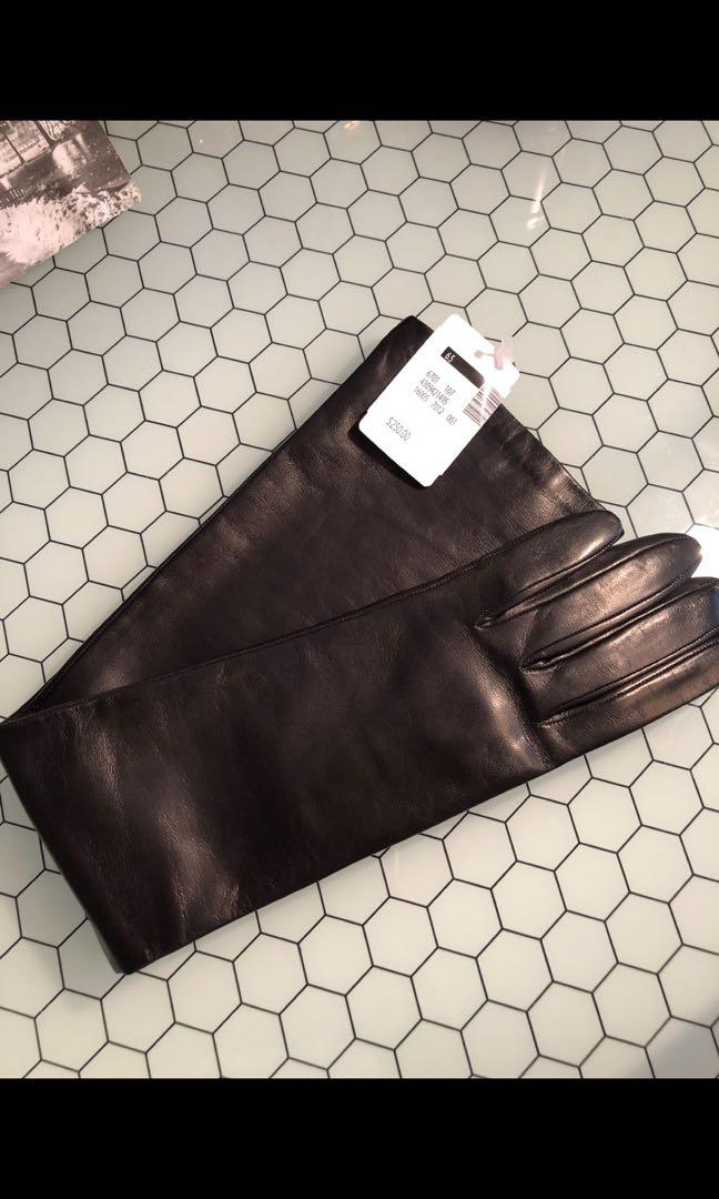 Luxurious high quality Italian soft leather gloves