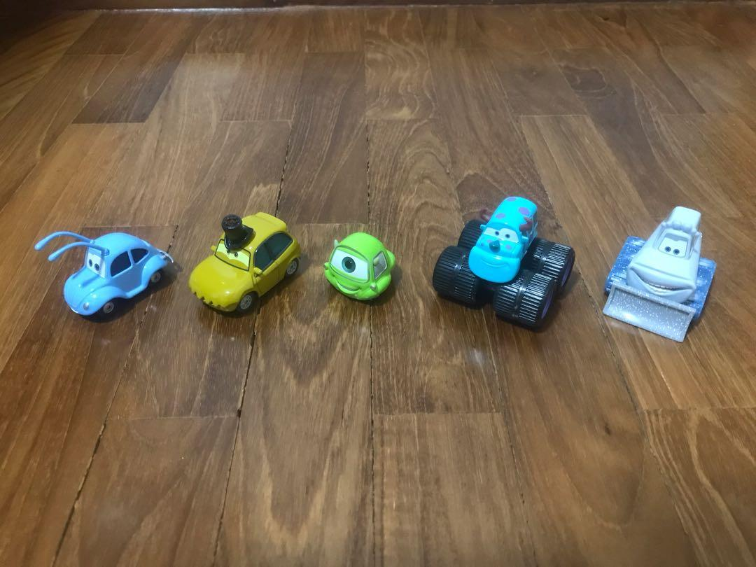 Mattel Disney Pixar Cars Movie Characters Set Toys Games Bricks Figurines On Carousell