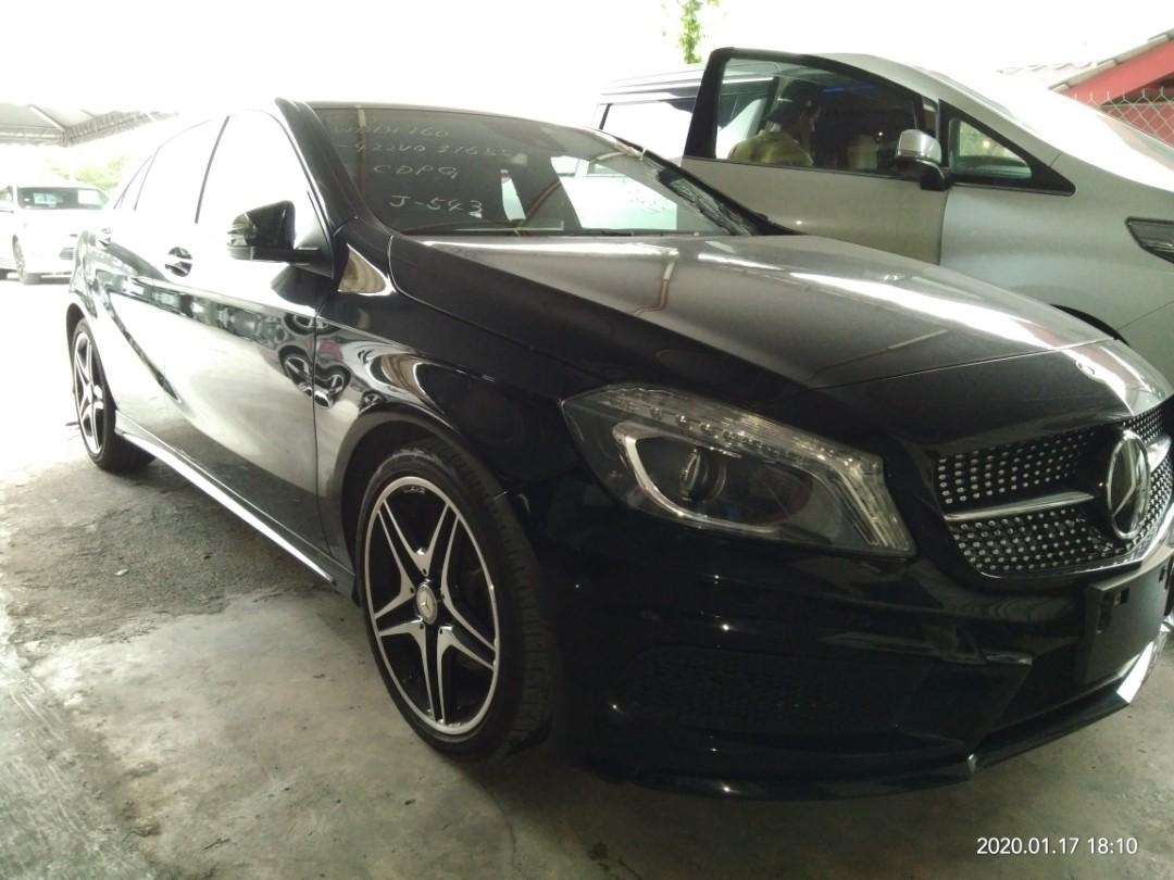MERCEDES A180AMG SPEC  RECON~2014 FOUM~JAPAN ON THE ROAD~PRICE RM133,888.88👍👍👍 👍include~Road tax fee.☺✔Processing fee.☺✔Import Duties fee☺✔Insurance fee Support ncb55% free insuranc ☺📱0⃣1⃣2⃣2⃣3⃣6⃣7⃣2⃣7⃣2⃣☺🙏SENGSENG bank~interest 2.45%+/-