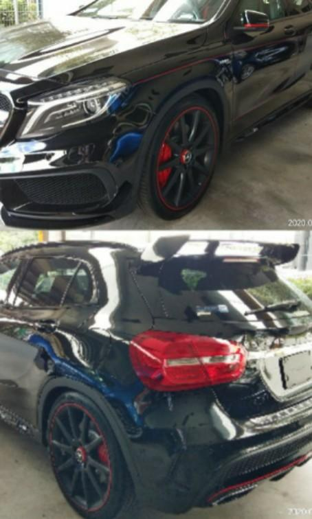 Mercedes GLA45AMG  4MATIC 2.0TURBO RECON2015on the road~price ☺RM248,888.88⭐⭐⭐www.wasap.my/0122367272/Johnngseng☺🙏price negotiable.☺