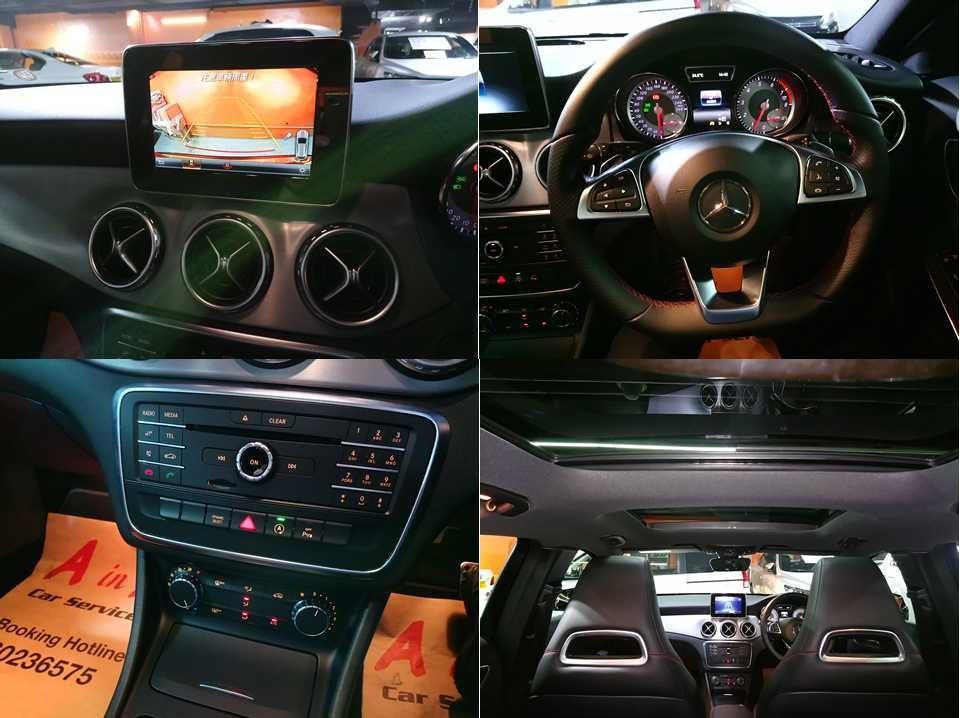 Mercedes-Benz GLA200 1.6 7G-DCT (A)