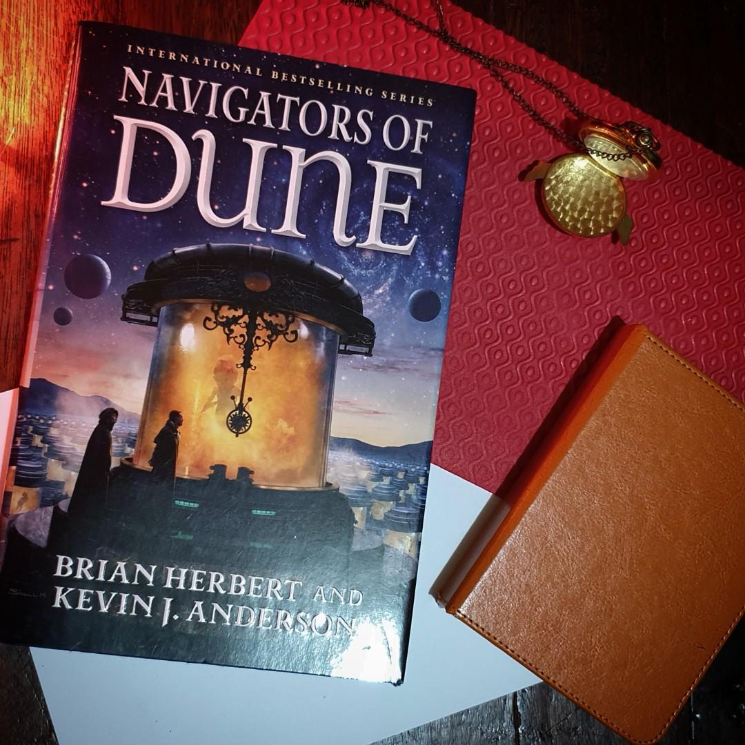 Navigators of Dune : The Schools of Dune Trilogy Book 3 by Herbert and Anderson