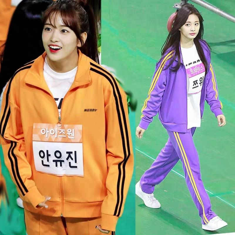 NERDY SPORTS WEAR <JACKET & PANTS> DUPLICATE KPOP IDOL FASHION