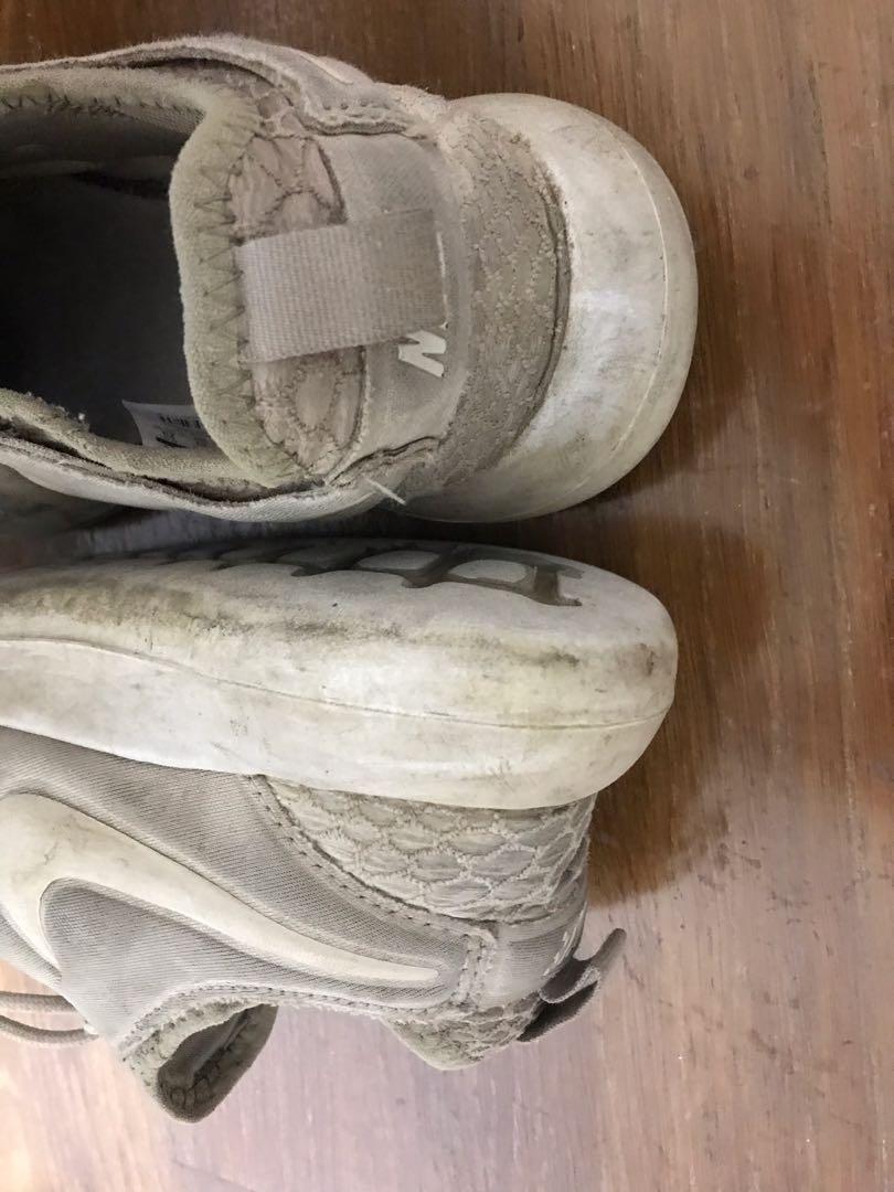 NIKE W ROSHE TWO SE 鱷魚紋 2代 網格 慢跑鞋 女鞋 卡其色