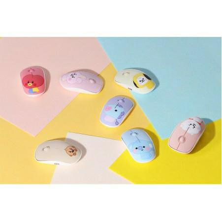 (PO) BTS BT21 Baby Wireless Silent Mouse by Royche