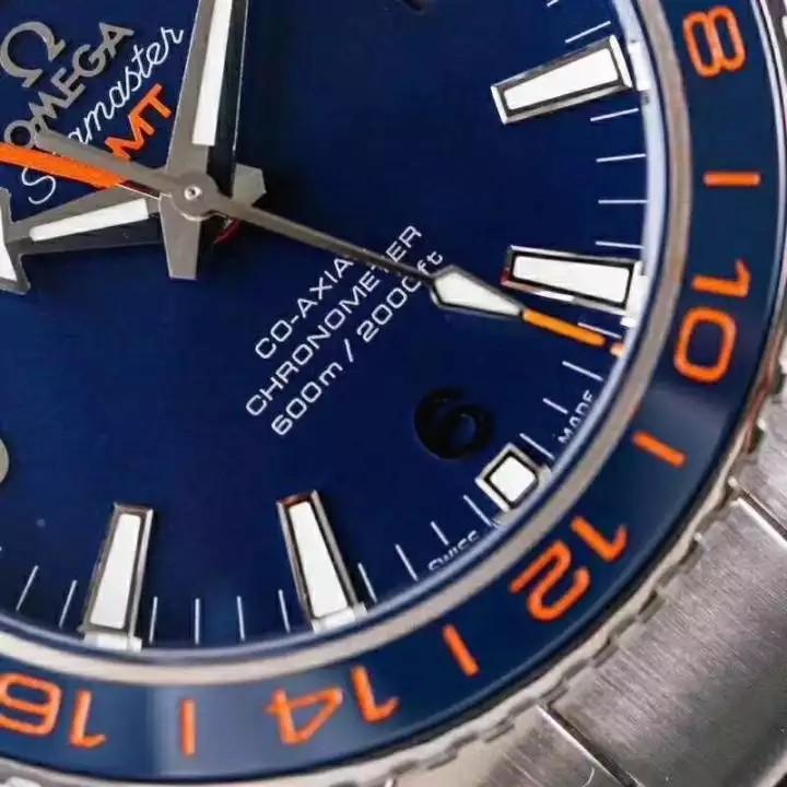 [PRE-ORDER] Sea.master PIanet Ocean 600M GMT ''SWISS QC'' Blue Dial Swiss Engine 8605 ( ETA 7-20 Days )